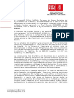 Ruego Al Pleno Plan Contra La Exclusion Social