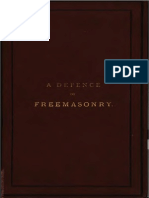 A Defence of Freemasonry - A f a Woodford