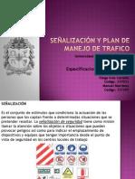 señalizacion y plan de manejo de trafico