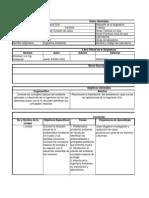 Plan Analitico Ingenieria Ambiental