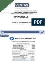 Notiventas Del 09 Al 12 de 2013