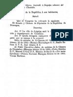 1865-02-15 - Se Eleva a Juigalpa a Cabecera Departamental