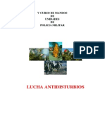 LUCHA ANTIDISTURBIOS, POLICIA MILITAR