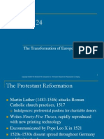 Power Point on the Reformation