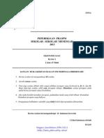 Trial Negeri Sembilan Ekonomi Asas Pra SPM 2013 SET 1 K1_K2_Soalan_Skema