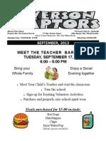 Sept 2013 News