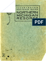 Illustrated Souvenir Guide of Northern Michigan Resorts
