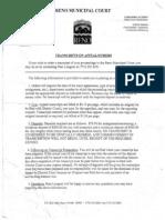 Rmc Transcript Rules in Violation of Nrs Longioni