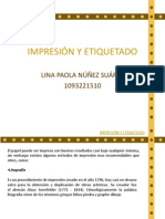 IMPRESIÓN Y ETIQUETADO