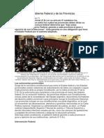 Facultades de l Gobierno Federal y de Las Provincias