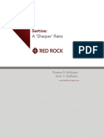 "Sortino - a ""Sharper"" Ratio! - Red Rock Capital"