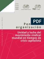 Ponencia organización SP