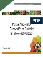 Renovacion y Mejoramiento de Cafetales (25!02!09)