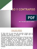 Clase Falso Piso y Contrapiso