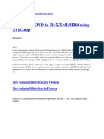 How to Rip a DVD to DivXXviDH264 Using DVDRip