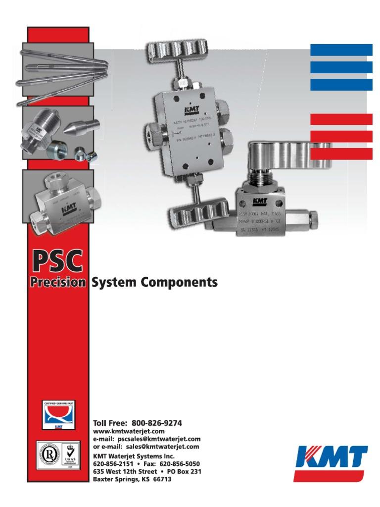 2010 KMT Waterjet PSC Catalog_L   Valve   Actuator