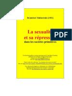 La Sexualite Et Sa Repression Dans Les Societes Primitives Ski [1]