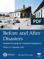 Before and After Disasters