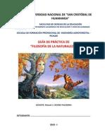 GUIA DE PRÁCTICA - FILOSOFÍA DE LA NATURALEZA