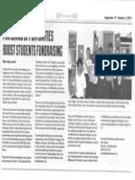 Walkathon Grapevine Article (Sept 2013) (1)