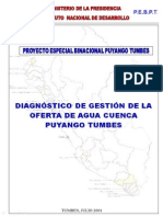 Infraestructura de Riego Tumbes