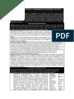Resumen capítulo 3 del libro investigacion de mercado orozco