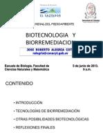 Ues Biotecnologia y Bioremediacion