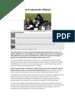 A quién le sirve la educación chilena