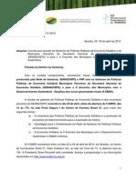 Ofício  FNP - Rede - SENAES 02-04-13 FINAL