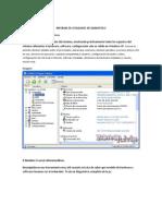 Informe de Utilidades de Dianostico