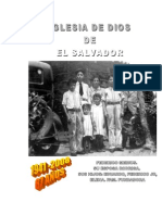 Iglesias de Dios de El Salvador...Su Historia