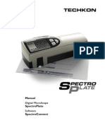 213 Manual SpectroPlate