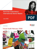 International Brand Master - RMIT University Submission
