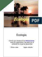 Unidad 8. Ecologia