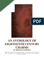 An Anthology of 18th Century Charms by Miranda Goshawk