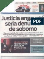 Noticia Endi (Sept. 19, 2013) Edición Impresa