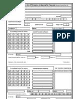 GAR-7 Service Tax Challan in Excel