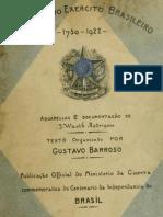 Gustavo Barroso - Uniformes Do Exercito Brasileiro-1730-1922
