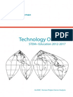2012 Technology Outlook for Stem Education