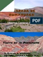 Quebrada de Humahuaca Villalobos Cardenas Nervis