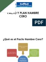 Pacto y Plan Hambre Cero