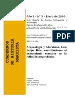 Arqueologia y Marxismo- Fuentes Et Al.