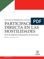 CICR - Participación directa en las hostilidades