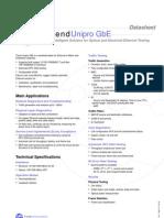 Unipro GbEth Datasheet