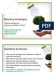 Recycling Campaigns