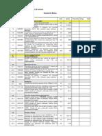 Anexo VI - Modelo de planilha orçamentária