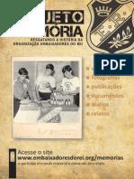 Panfleto Projeto Memoria Er