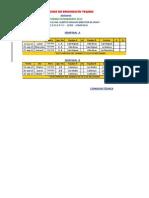 Calendario de Juego Semifinal Torneo Interbarrio 2013