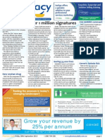Pharmacy Daily for Fri 20 Sep 2013 - Over 1 million signatures, Advanced practice paper, Ranbaxy plummets, CHC NHMRC comment and much more