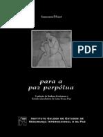 Immanuel Kant - À Paz Perpétua